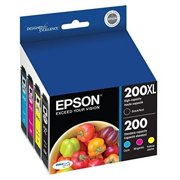 Epson 200XL Black & Standard-capacity Color Combo Pack Ink Cartridge