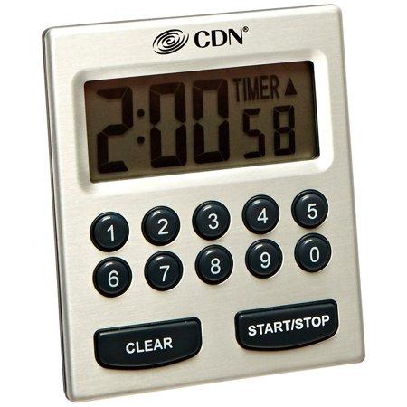 CDN RFL80 Refrigerator/Freezer Thermometer and Hygrometer -10 Degree F to +80 Degree F/-23 Degree C to +26 Degree C 12