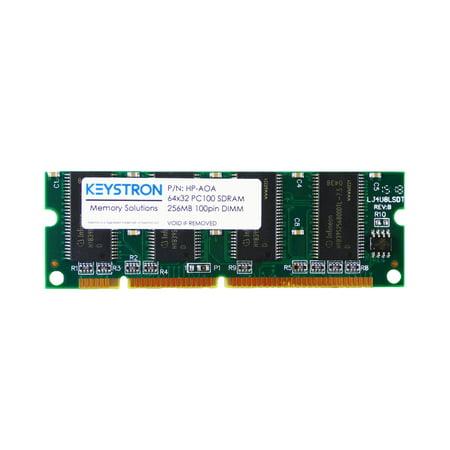 6400 Sdram Dimm Memory (256MB 100pin SDRAM DIMM for HP LaserJet 2605 2605dn 2605dtn Printer Memory)