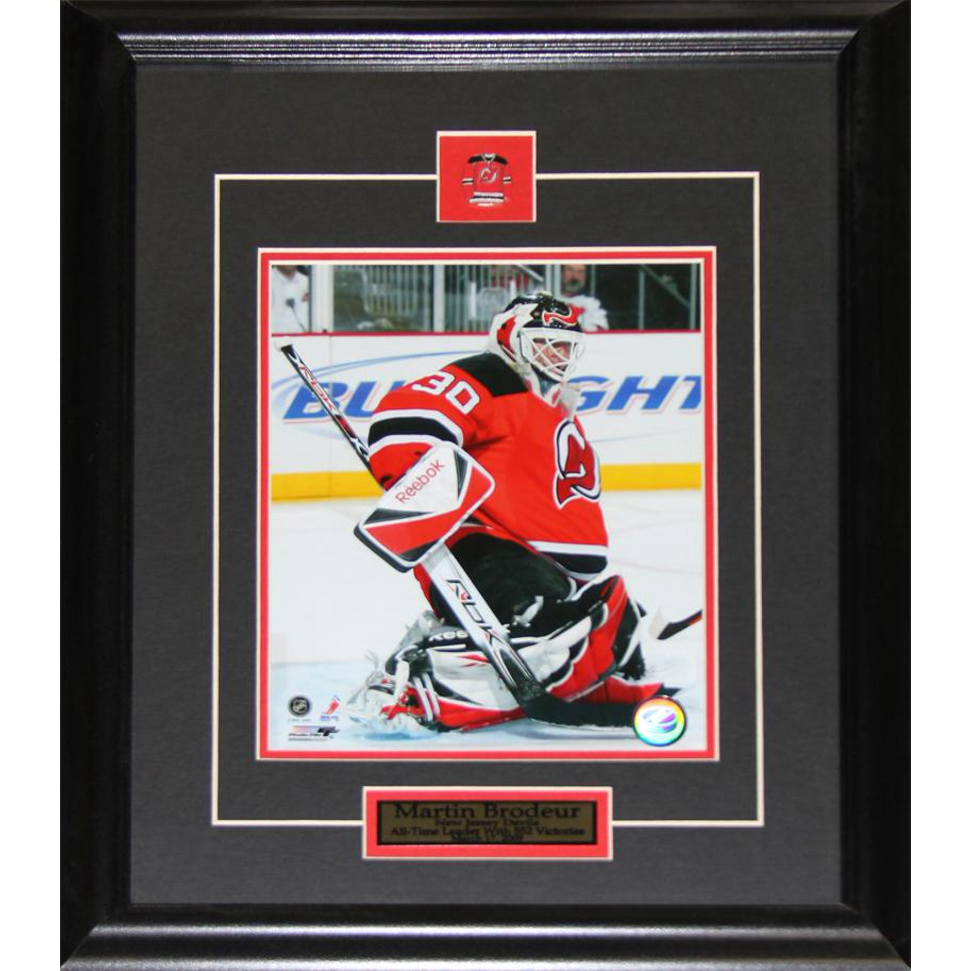 wholesale dealer 30ca5 f2502 Martin Brodeur New Jersey Devils 8x10 NHL Hockey Memorabilia ...
