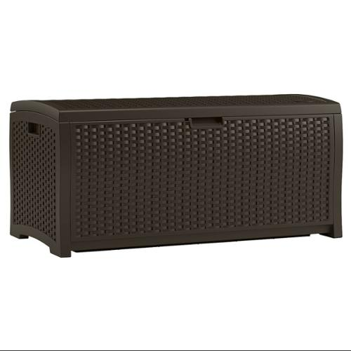 Suncast 73 Gallon Wicker Deck Box