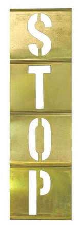 CH HANSON 10179 Stencil Kit, Brass, 5 in. by CH Hanson