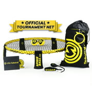 Spikeball Pro Set (Tournament Edition) – Includes stronger, more stable playing net, upgraded balls designed for spin, backpack and ball pump.