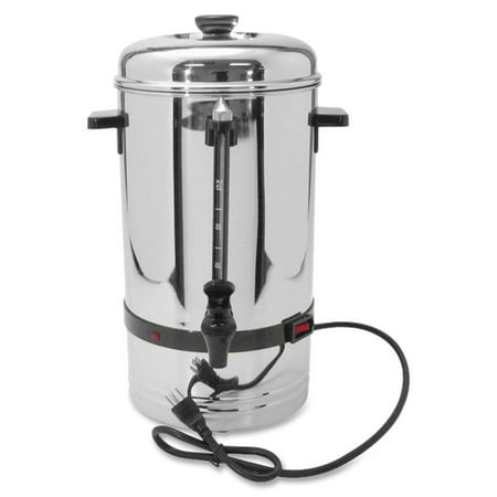 Coffee Pro, CFPCP36, 36-Cup Commercial Urn/Coffeemaker, 1, Stainless - 36 Cup Stainless Steel Urn