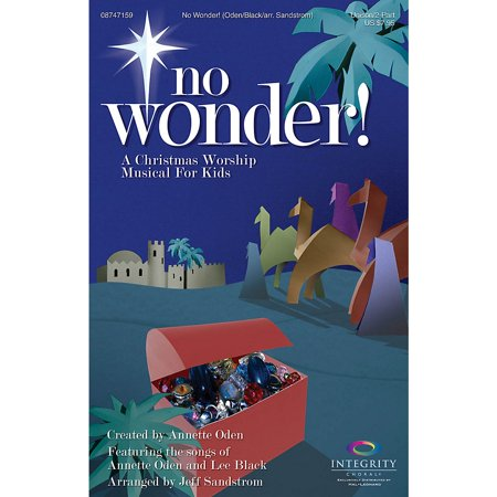 Integrity Music No Wonder! (A Christmas Worship Musical for Kids) CD 10-PAK Arranged by Jeff Sandstrom ()
