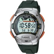 Men's Casual Sport Watch, Green Resin Strap