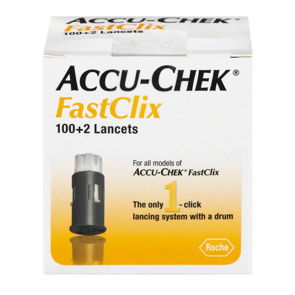 Accu-Chek FastClix Lancets - 102 CT
