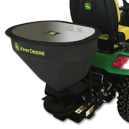 - John Deere X700 Series 3-cu ft Broadcast Salt Spreader