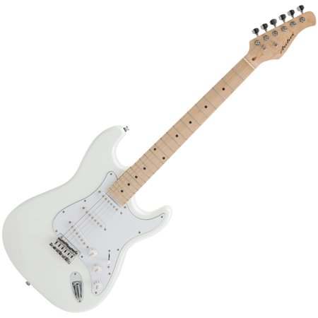 Archer SS10 Electric Guitar Maple Neck - White Finish (Maple Guitar Neck)