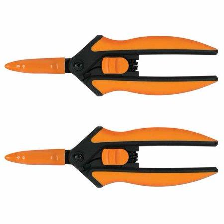 Fiskars Non-stick Micro-Tip Pruning Snips (2-pk)