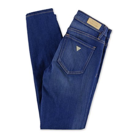 GUESS Womens Power Curvy Mid Skinny Fit Jeans blue 25x26 - image 1 de 2