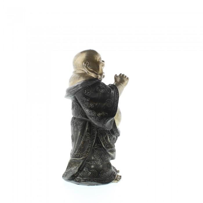 STANDING HAPPY BUDDHA FIGURINE - image 1 of 6