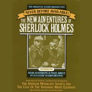 The Amateur Mendicant Society and Case of the Vanishing White Elephant - Audiobook