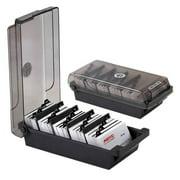 Large Capacity Business Card organizer File Name Card Case Holder Card Storage Box organizer office Business Card Holder office Stationery and Educational Supplies