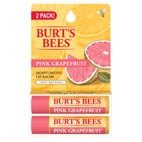 Burt's Bees Moisturizing Lip Balms 2 Pack - Pink Grapefruit 2 Pack