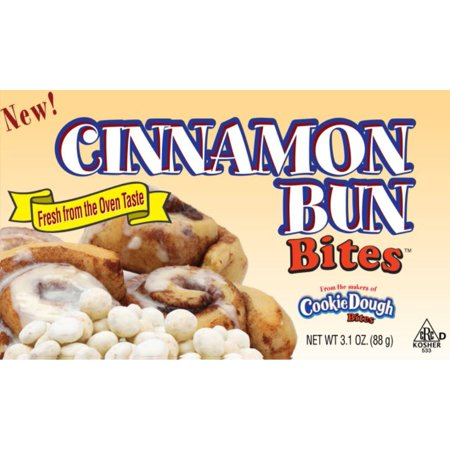 Cinnamon Bun Bites, 3.1 Oz, 12 Ct