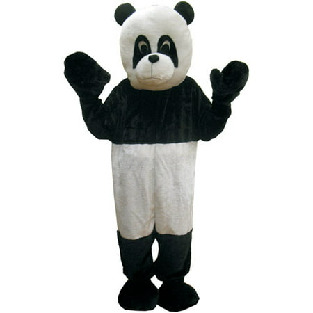 Panda Mascot Adult Halloween Costume, Size: Men's - One Size - Adult Panda Costume