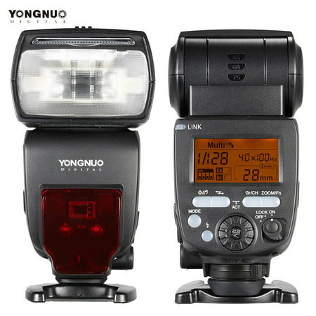 YONGNUO YN660 GN66 2.4G Wireless Transmission Transceiver Master Slave Speedlite Flash for Nikon Canon Pentax DSLR Camera Compatible with YN560-TX/RF-603/RF-602/RF 603II/YN560 IV/YN560 (Best Yongnuo Flash For Canon 60d)