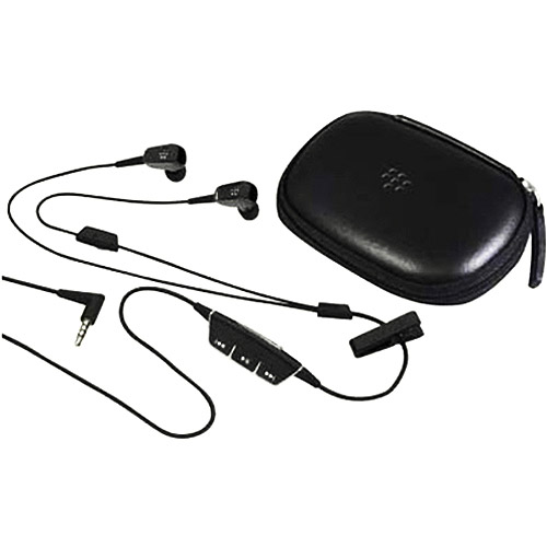 Blackberry Premium Multimedia Headset with Case _ 3.5mm