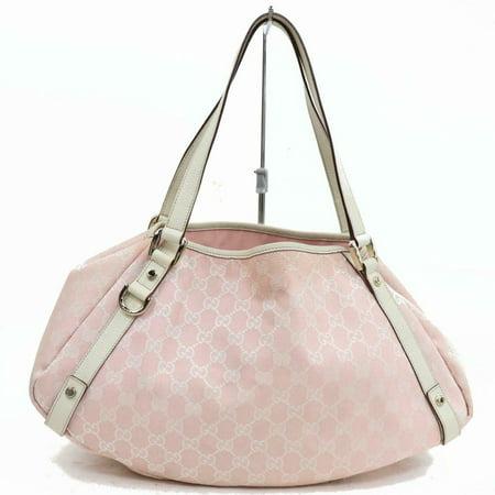 Gucci Pink Monogram GG Abbey Hobo 870308