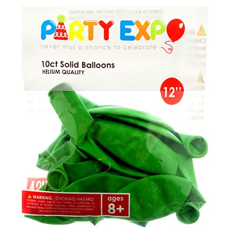 New 327882  Balloon Solid 10Ct Lime Green Clr 12 Pb2143lgr (12-Pack) Party Set Cheap Wholesale Discount Bulk Party Supplies Party Set Bud