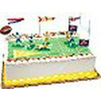 A1BakerySupplies Cake Decorating Kit CupCake Decorating Kit (Touchdown Foot Ball Kit)