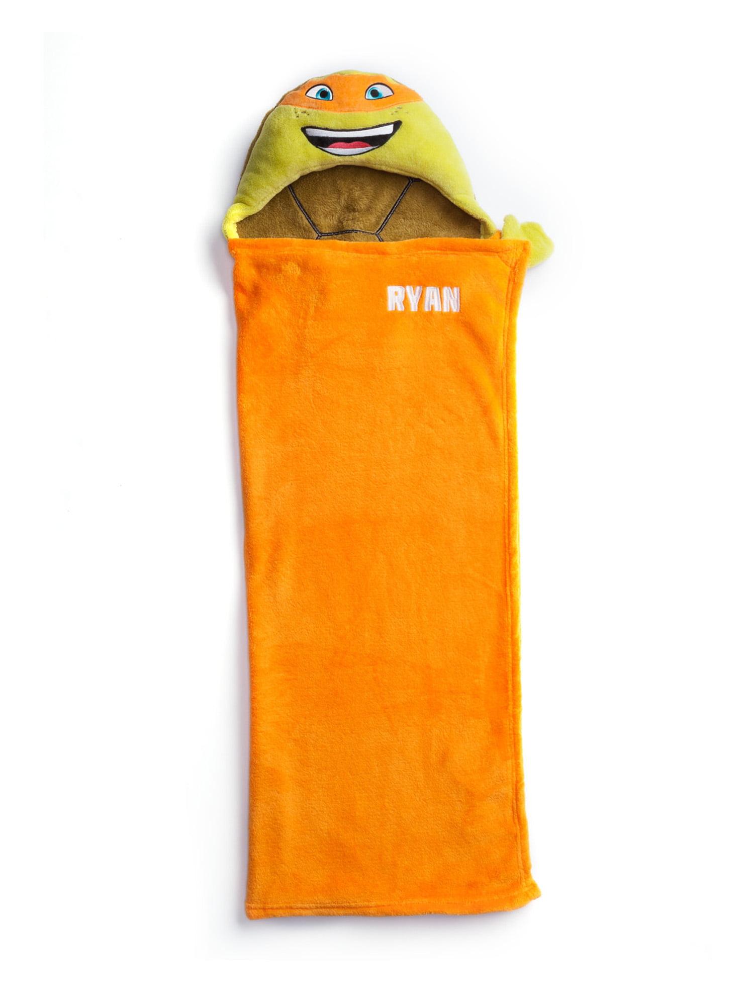 Personalized Teenage Mutant Ninja Turtles Hooded Blanket, MICHELANGELO by Generic