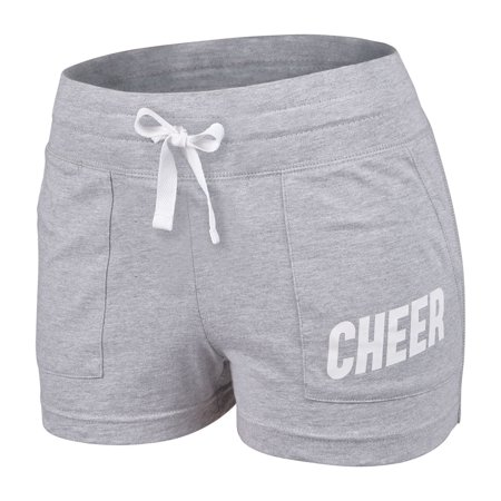 Chassé Classic 100% Cotton Cheerleading Practice Short with Drawstring - - Youth](Children's Cheerleading Uniforms)