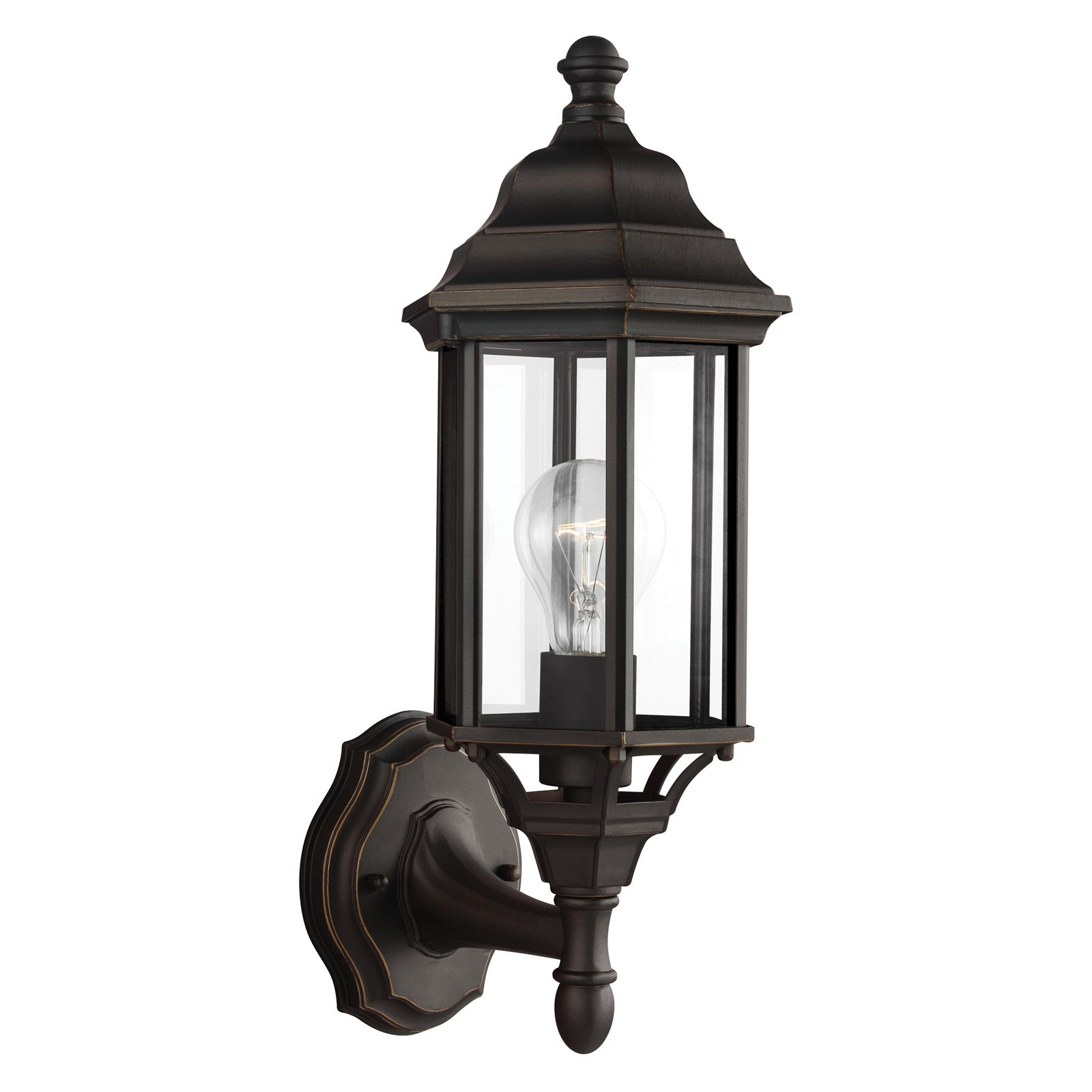Sea Gull Lighting Sevier 8538701 One Light Outdoor Wall Lantern