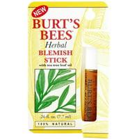 Burt's Bees Herbal Blemish Stick 0.26 oz (Pack of 2)