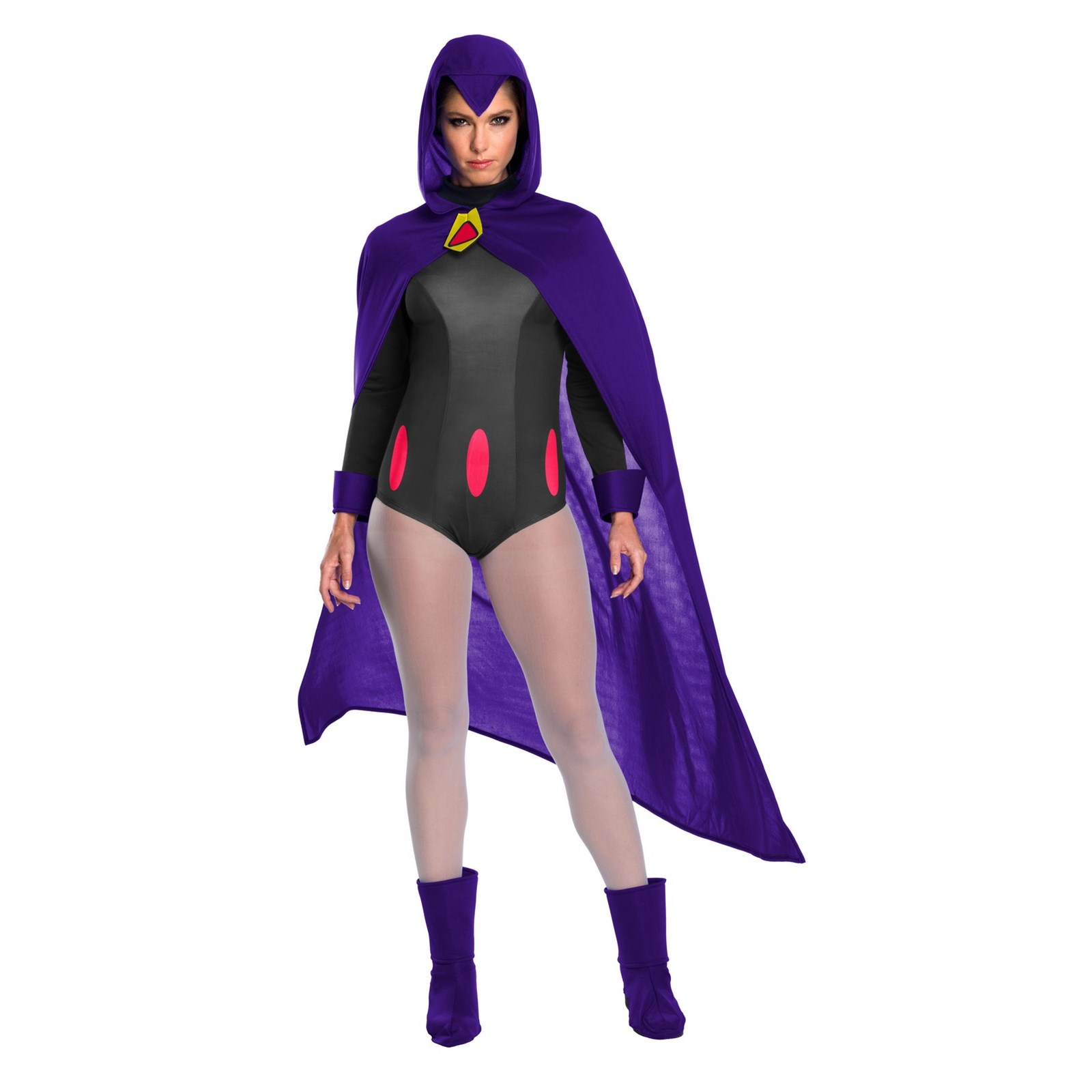 Halloween Teen Titans Raven Adult Costume by Rubies