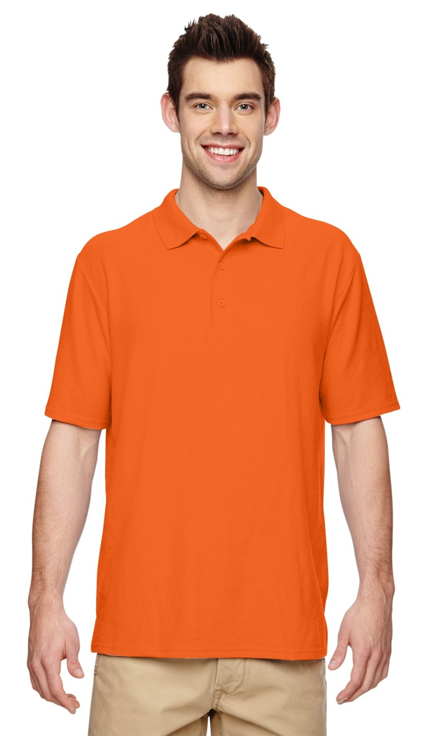 White Instant Savings of 5/% /& More Product of Brand Gildan Youth DryBlend 63 oz Double Piqu/é Polo Shirt XS -