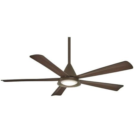 "Minka Aire Cone 54"" LED Ceiling Fan - Oil Rubbed Bronze - F541L-ORB"