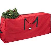 Holiday Star Premium Christmas Tree Storage Bag 48 x 15 x 20 inches - Red
