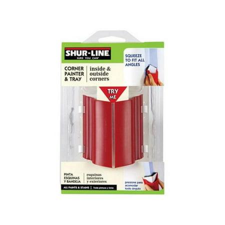 Shur Line 1788121 Flex Corner Painter With Tray