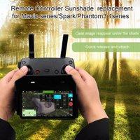 Compatible with MAVIC MINI MAVIC AIR MAVIC PRO SPARK Drone Remote Control Sun Shade Hood for 4.7-5.5IN Android IOS Mobile Phone