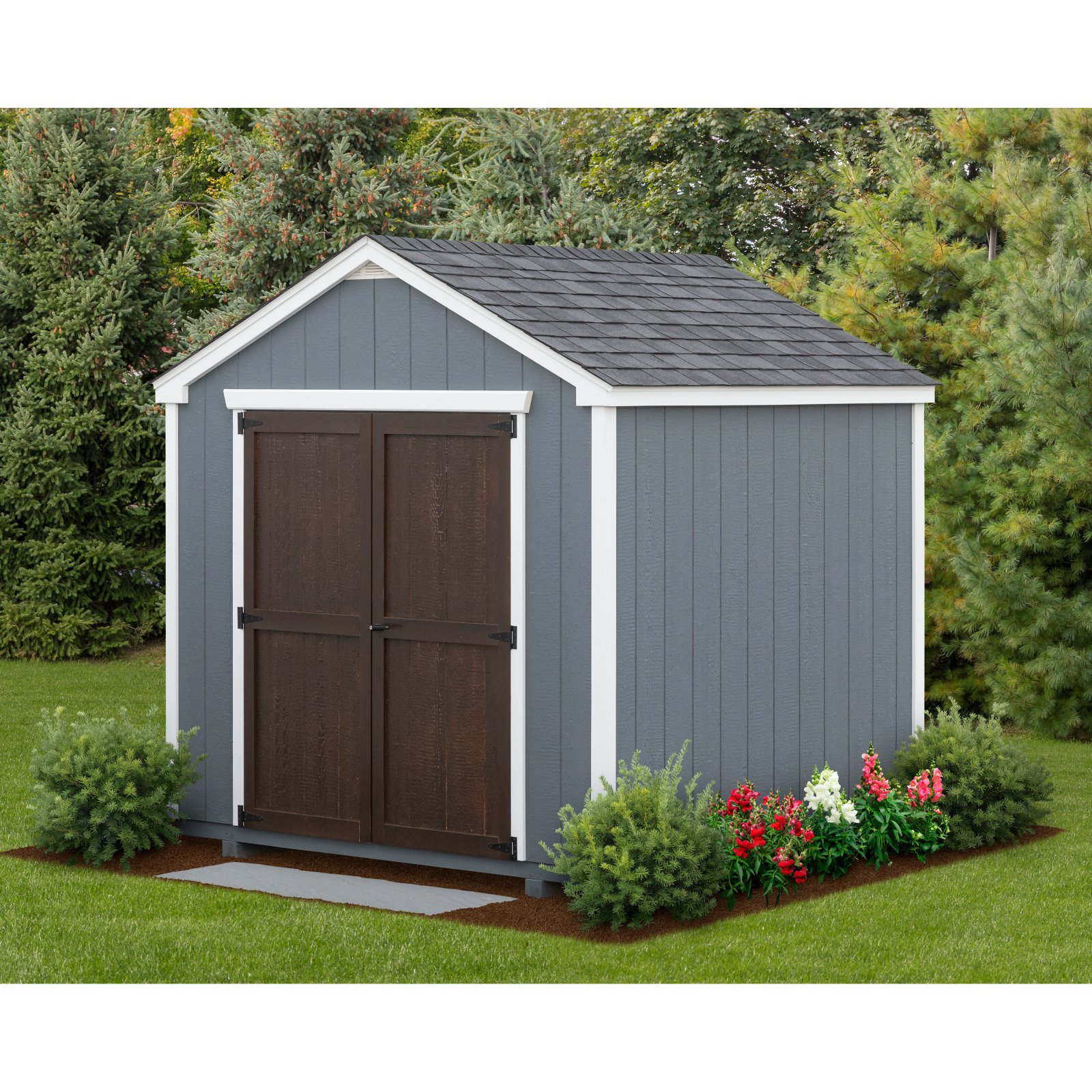 YardCraft 8 ft. x 8 ft. Edgemont Garden Shed