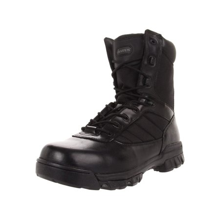 Bates Men's Ultra-Lites 8 Inches Tactical Sport Side-Zip Boot, Black, Size 10.5