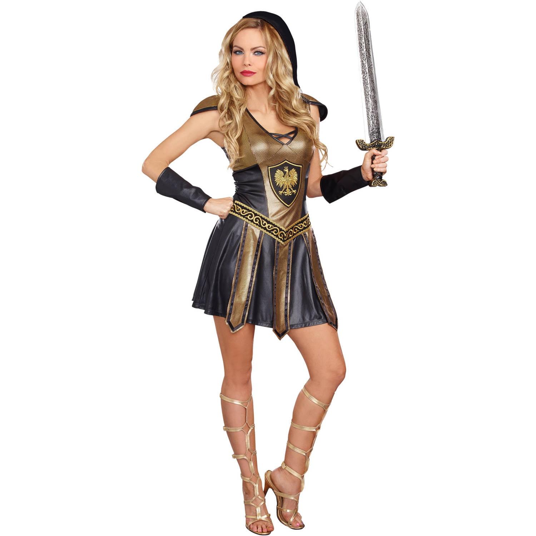 Deadly Warrior Womens Women's Adult Halloween Costume