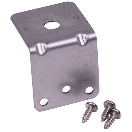 "Laird Technologies - 3/8"" Hole Trunk Groove Mount Bracket with Self Tap Screws"