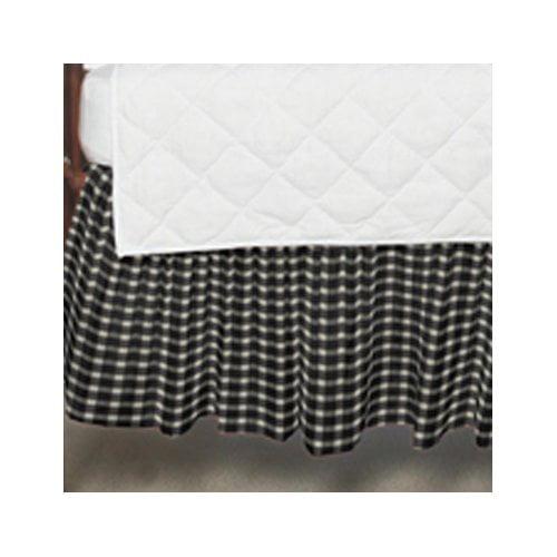 Patch Magic Gingham Checks Fabric Crib Dust Ruffle