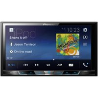 "Pioneer MVH-300EX 7"" Double-DIN In-Dash Car Stereo Digital Media & A/V Receiver with Bluetooth"