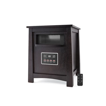 Mainstays 4 Element Infrared Electric Cabinet Space