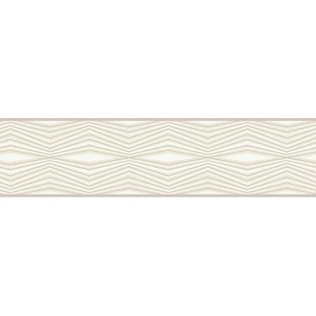 Portfolio Wallpaper - York Wallcoverings Portfolio II Optical Illusion 15' x 6'' Geometric Border Wallpaper