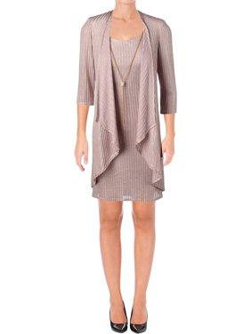 b4ca7b69 Product Image R&M Richards Womens 3/4 Sleeves Knee-Length Cocktail Dress