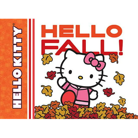 Hello Kitty Hello Fall (Board Book) - Halloween Hello Kitty Color Pages