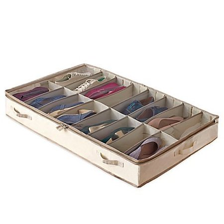 Garment Storage Underbed Shoe Bag By Real Simple