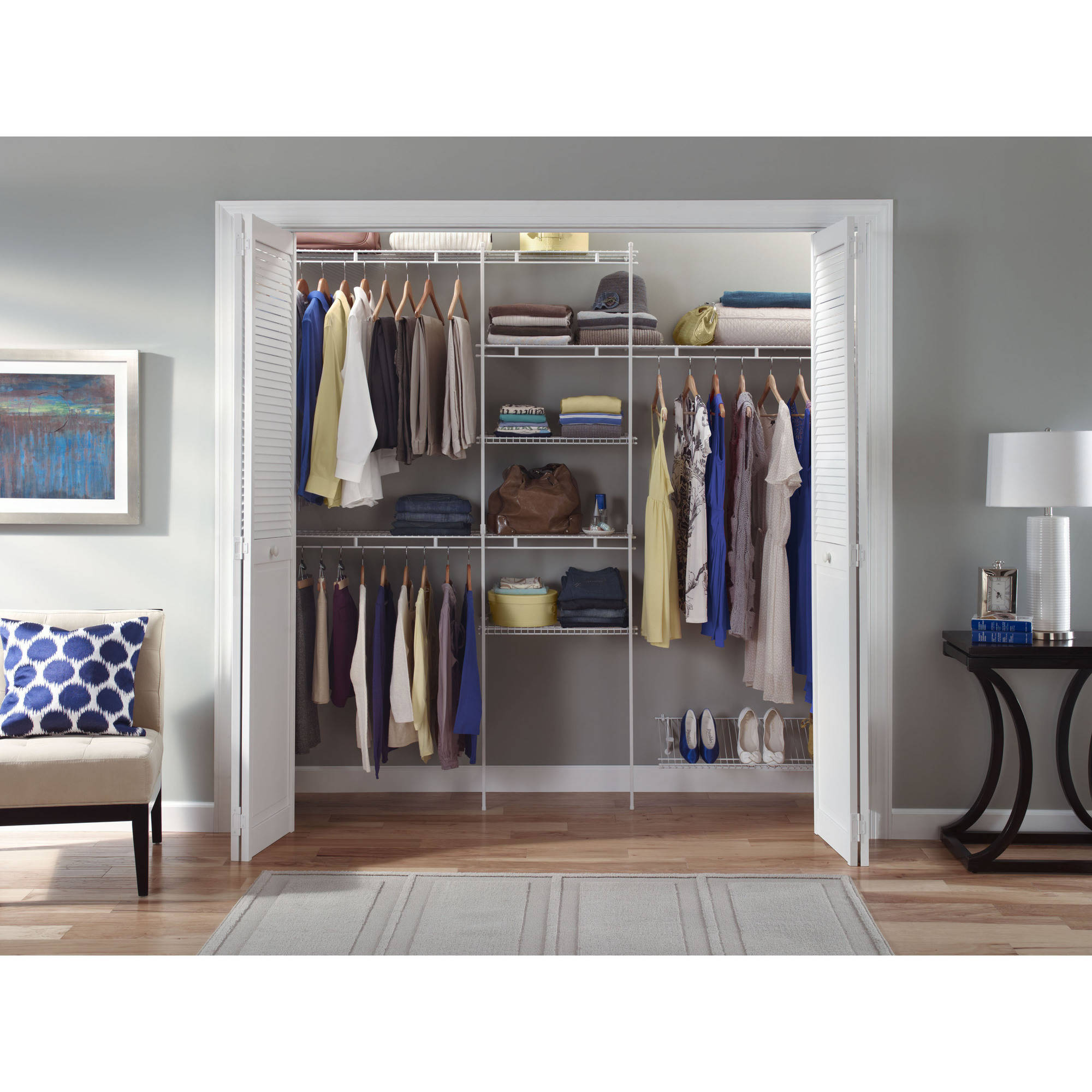 Agreeable closetmaid j hooks roselawnlutheran - Types of shoe storage solutions for the bedroom ...