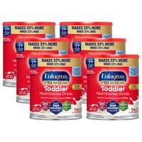 Enfagrow Premium Toddler Nutritional Drink, Natural Milk Flavor - Powder, 32 oz Can (6 Pack)