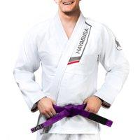 Hayabusa Ultra Lightweight Pearlweave Jiu Jitsu Gi, White A5